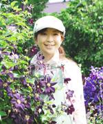上野 砂由紀さん(上野ファーム ガーデナー)