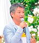 小山内健さん(ローズソムリエ、NHK「趣味の園芸」講師)
