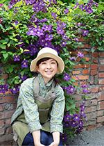 上野砂由紀さん(上野ファーム ガーデナー)