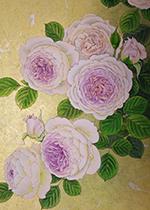 内藤マリナ 薔薇の水彩画展