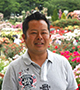 河合伸志さん(バラ育種家、NHK「趣味の園芸」講師)