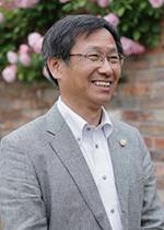 上田 善弘さん(岐阜県立国際園芸アカデミー学長)