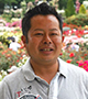 河合伸志さん (バラ育種家、NHK「趣味の園芸」講師)