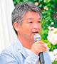 小山内健さん (ローズソムリエ、NHK「趣味の園芸」講師)
